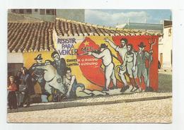 Portugal Serpa Resistir Para Vencer Mes Pinturas Murais No Baixo Alentejo Cachet Lisboa Restauradores 1979 - Lisboa