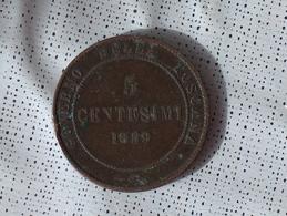 Italie 5 CENTESIMI 1859 - Regional Coins