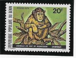 Thème Animaux - Singes - Gorilles - Lémuriens - Bénin - Neuf ** Sans Charnière - TB - Monkeys