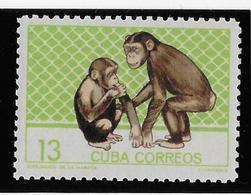 Thème Animaux - Singes - Gorilles - Lémuriens - Cuba - Neuf ** Sans Charnière - TB - Monkeys