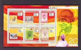 GUINEE  2009 TIMBRE SUR TIMBRE-GANDHI YVERT N°4516/21  NEUF MNH** - Mahatma Gandhi
