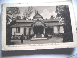 Indonesië Ned Indië Sumatra Tengkoe Huis - Indonésie