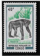 Thème Animaux - Singes - Gorilles - Lémuriens - Congo - Neuf ** Sans Charnière - TB - Monkeys