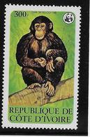 Thème Animaux - Singes - Gorilles - Lémuriens - Côte D'Ivoire - Neuf ** Sans Charnière - TB - Monkeys