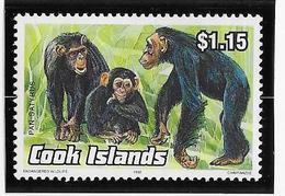 Thème Animaux - Singes - Gorilles - Lémuriens - Cook - Neuf ** Sans Charnière - TB - Monkeys