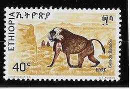 Thème Animaux - Singes - Gorilles - Lémuriens - Ethiopie  - Neuf ** Sans Charnière - TB - Monkeys
