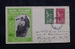 NOUVELLE ZÉLANDE - Enveloppe FDC En 1947 Pour Les Etats Unis - L 57254 - FDC