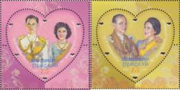 Ref. 576418 * NEW *  - THAILAND . 2010. 60TH ANNIVERSARY OF THE ROYAL LINK. 60 ANIVERSARIO DEL ENLACE REAL - Tailandia