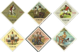 Ref. 27263 * NEW *  - TIMOR . 1962. SPORTS. DEPORTES - Timor Oriental