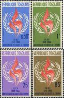 Ref. 257084 * NEW *  - TOGO . 1963. 15th ANNIVERSARY OF THE UNIVERSAL DECLARATION OF HUMAN RIGHTS. 15� ANIVERSARIO DE LA - Togo (1960-...)
