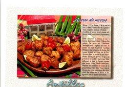 RECETTE ACCRAS DE MORUE - Küchenrezepte