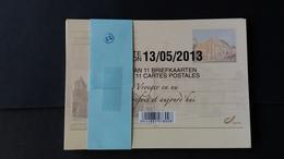 """Belgique - Cartes Postales Spéciales : BK234/44 """"Autrefois... Et Maintenant"""" - Projets Non Adoptés"""