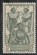 COTE FRANCAISE DES SOMALIS  Guerriers  N° 157* - Nuovi
