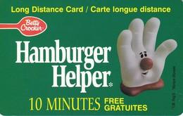 TARJETA DE CANADA DE HAMBURGER HELPER 10 MINUTES FREE - Canada
