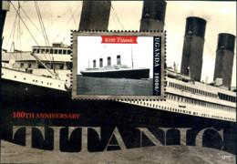 Ref. 287082 * NEW *  - UGANDA . 2012. 100th ANNIVERSARY OF TITANIC. 100 ANIVERSARIO DEL TITANIC - Uganda (1962-...)