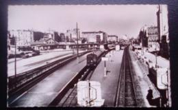 Carte Postale Ancienne -Courbevoie - Asnières-Bécon - La Gare - Courbevoie