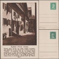 """Allemagne 1927. 2 Cartes Postales TSC, Série Touristique """"Esperanto"""". Kufstein, Vue D'un """"Weinstube"""" - Vins & Alcools"""