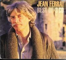 JEAN FERRAT  BEST OF 3 CD Avec PROGRAMME Et LIVRET  PHOTOS - Musique & Instruments