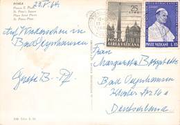VATIKAN - 3 POSTKARTEN 1964/77 /ak684 - Briefe U. Dokumente