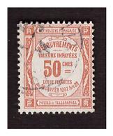 Timbre Taxe N° 47 Obl. - Portomarken