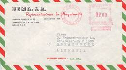 MEXICO - AIRMAIL 1966 - OSNABRÜCK /METER/ /ak685 - Mexico
