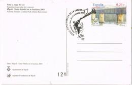 36197. Postal RIPOLL (Gerona) 2003. Ciudad Pubilla De La SARDANA - 1931-Hoy: 2ª República - ... Juan Carlos I