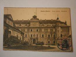 Allemagne. Baden Baden, Neues Schloss. Schlosshof (8973) - Baden-Baden