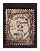 Timbre Taxe N° 62 Obl. - 1859-1955 Used
