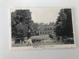 """Carte Postale Ancienne  Messancy Le """"Castel""""  Hôtel-Restaurant Prop : Max Dillembourg - Messancy"""