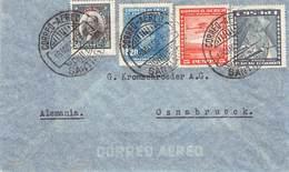 CHILE - AIR MAIL 1935 SANTIAGO - OSNABRÜCK /ak687 - Chile