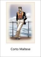 ADESIVO STICKER Serie Personaggi Fumetti Corto Maltese - Altri