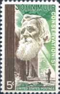 Ref. 161791 * NEW *  - UNITED STATES . 1964. 50TH ANNIVERSARY OF THE DEATH OF THE NATURALIST JOHN MUIR (1838-1914). 50 - United States