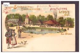 LEIPZIG - SÄCHSISCH THÜRINGISCHE AUSSTELLUNG 1897 - TB - Leipzig