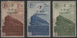 FR/CP 3 - FRANCE Colis Postaux N° 191/93 Neufs* - Neufs