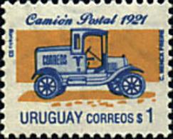 Ref. 42691 * NEW *  - URUGUAY . 1993. POSTCARD TRUCK. CAMION POSTAL - Uruguay