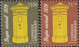 Ref. 618846 * NEW *  - URUGUAY . 1996. MAIL BOXES. BUZONES - Uruguay