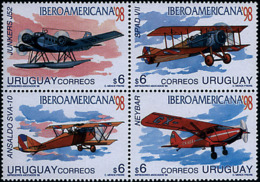Ref. 6547 * NEW *  - URUGUAY . 1998. IBERO-AMERICAN 98. IBEROAMERICANA 98 - Uruguay