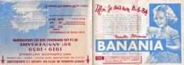COMITE NATIONAL DE DEFENSE CONTRE LA TUBERCULOSE 20 è ANNIVERSAIRE ,PUB BANANIA ,12 TIMBRES REF 64658 - Krankheiten