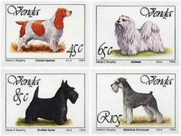 Ref. 47575 * NEW *  - VENDA . 1994. PEDIGREE DOGS. PERROS DE RAZA - Venda