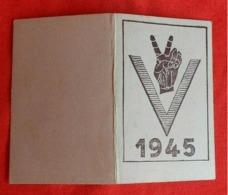 Calendrier De Poche 1945/ Victoire - Calendriers