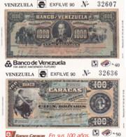 Ref. 178269 * NEW *  - VENEZUELA . 1990. EXFILVE 91. NATIONAL PHILATELIC EXHIBITION. EXFILVE 91. EXPOSICION FILATELICA - Venezuela