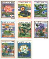 Ref. 92816 * NEW *  - VIET NAM . 1980. WATER FLOWERS. FLORES ACUATICAS - Vietnam
