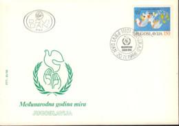 Ref. 408639 * NEW *  - YUGOSLAVIA . 1986. INTERNATIONAL YEAR OF PEACE. A�O INTERNACIONAL DE LA PAZ - Joegoslavië
