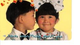 COUPLE D ENFANTS AMOUREUX 182S - Singapour