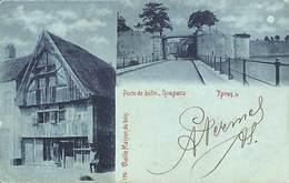 Ieper Yper - Vieille Maison De Bois - Porte De Bille - Remparts 1902 (PR 170) - Ieper