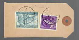 COB 693 + 712 ( Exportation ) / Etiquette D'échantillon Laboratoire Dentaire Mulier Bruxelles 6 XII 1949=> Malines - Belgique