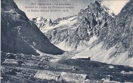 Dauphiné, Le Lautaret, Chalet De L'Alpe De Villard D'Arène Et Roche Méane (pk69133) - Frankreich