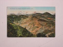 The Range From Mount Flastaff. Boulder. - Etats-Unis