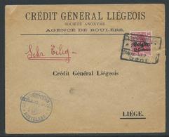 Brief Verstuurd Van Roeselare Naar Luik - Guerre 14-18