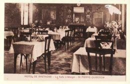 Anc074 SAINT-PIERRE-QUIBERON St 56-Morbihan Hotel De BRETAGNE Salle à Manger 1930s - LEBRETON - Autres Communes